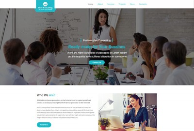 Business Plan Consulting WordPress Theme