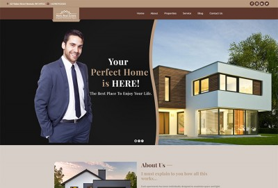 Real Estate Agent, Property Rent & Property Sale WordPress Theme
