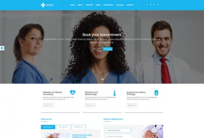 Medical & Health Care HTML Website Template
