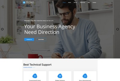 Remote Technical Support WordPress Theme