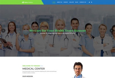 Medical Health Center And Hospital WordPress Theme