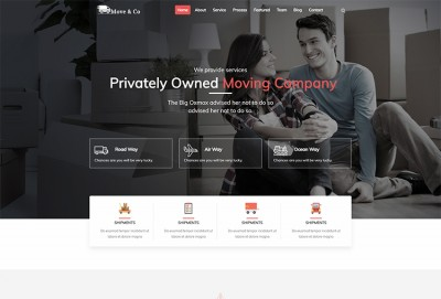 Movers and Packers HTML Website Template