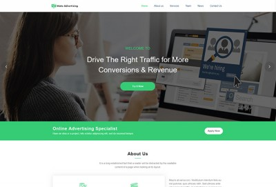 Online Advertising And Marketing WordPress Theme