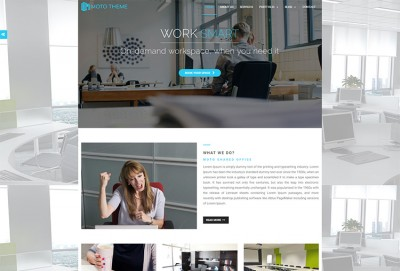 Сoworking And Office Space WordPress Theme
