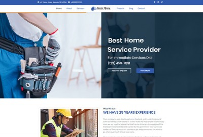 Home Inspection WordPress Theme